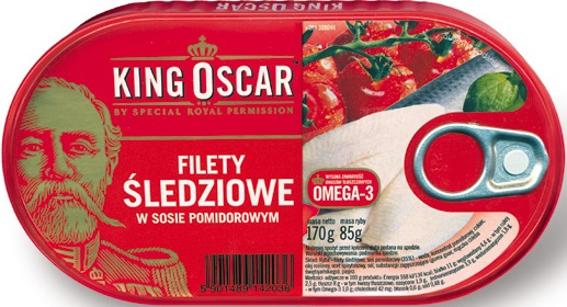 Heringsfilets Tomaten-Sauce