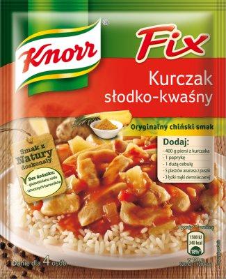 Knorr Fix Kurczak sos w proszku słodko-kwaśny