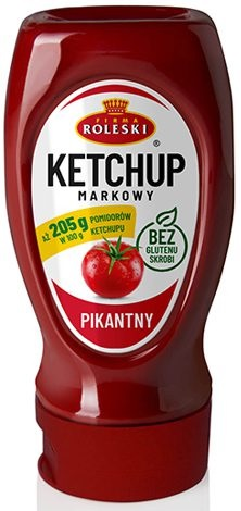 Ketchup Roleski Markowy Pikantny