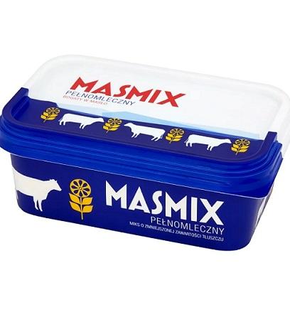 Masmix pełnomleczny bogaty w masło