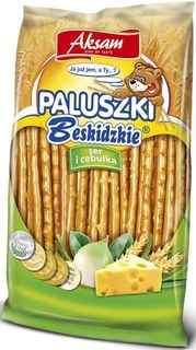 Paluszki Beskidzkie ser i cebulka
