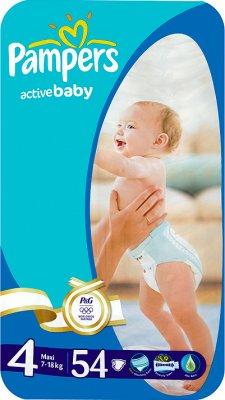 couches pour bébés actifs 4 Maxi 7 - 14 kg