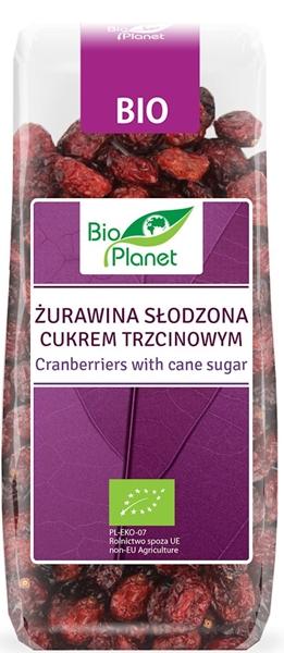 клюква , подслащенные тростникового сахара , продукт экологически чистого сельского хозяйства