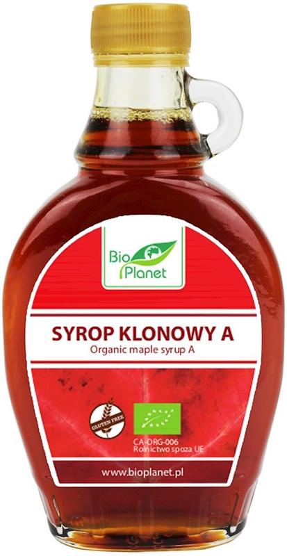 Bio Planet syrop klonowy, produkt rolnictwa ekologicznego