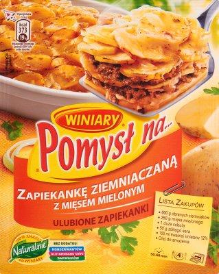 Winiary Pomysł na...  Zapiekankę ziemniaczaną z mięsem mielonym
