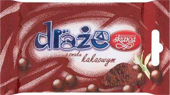 Skawa draże o smaku kakaowym