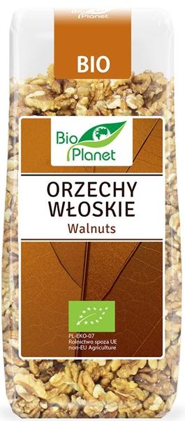 Bio Planet orzechy włoskie, produkt rolnictwa ekologicznego