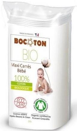 BOCOTON Ekologiczne płatki kosmetyczne MAXI (90 x110mm)