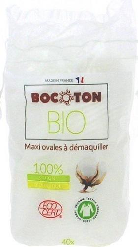 BOCOTON Ekologiczne płatki kosmetyczne owalne BIO & FAIRTRADE