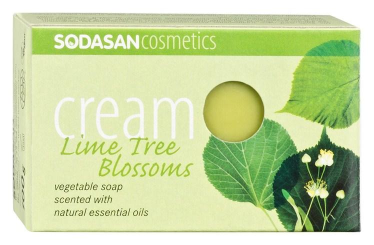 Органическая косметика мыло с ароматом свежего цветы липы био