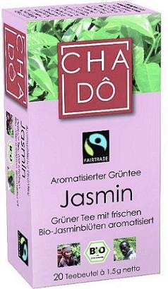 CHA-DO ekologiczna zielona herbata - Jaśminowa BIO
