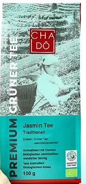 CHA-DO ekologiczna, liściasta zielona herbata - Jaśminowa BIO