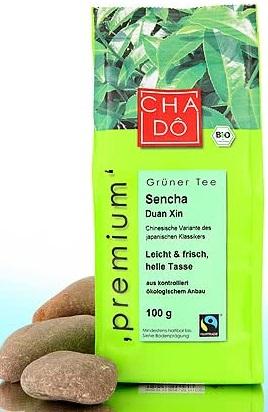 CHA-DO ekologiczna, liściasta zielona herbata Sencha BIO