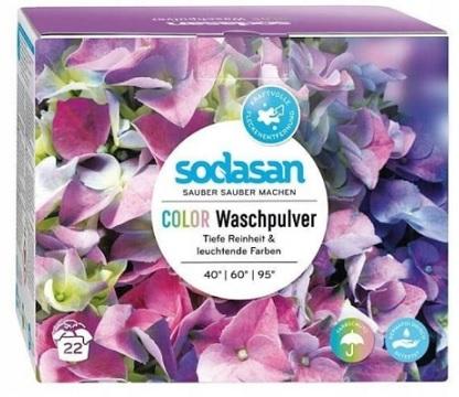 Sodasan Uniwersalny proszek do prania kompaktowy kolor