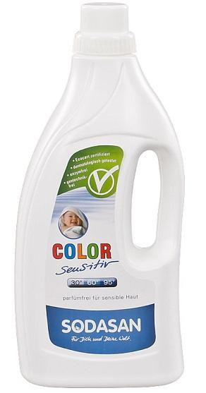 Sodasan Płyn do prania Color Sensitiv BIO