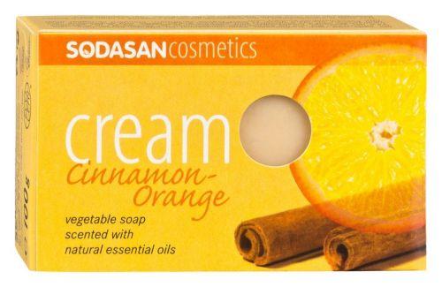 Sodasan Cosmetics ekologiczne mydło o zapachu Cynamonowo-Pomarańczowym BIO