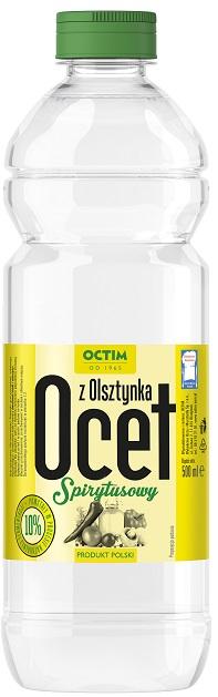 Octim Ocet spirytusowy z Olsztynka 10% kwasowości