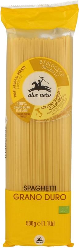 Organique pâtes de semoule de spaghetti