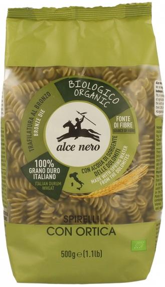 Alce Nero Spirelli makaron z pokrzywą