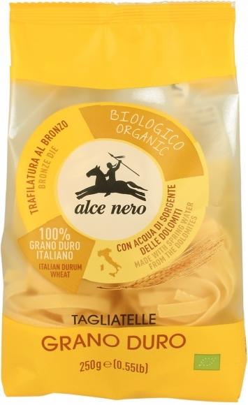 Alce Nero Tagliatelle makaron gniazda Semolina BIO