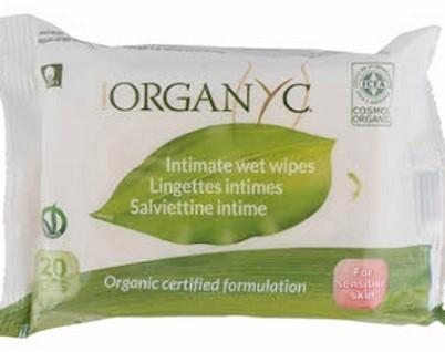 Organyc chusteczki do higieny intymnej