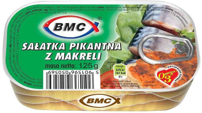 b.m.c Salade épicée de maquereau
