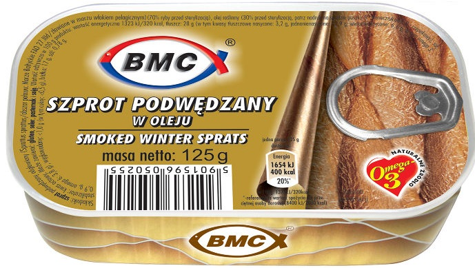 b.m.c smoked sprats in oil
