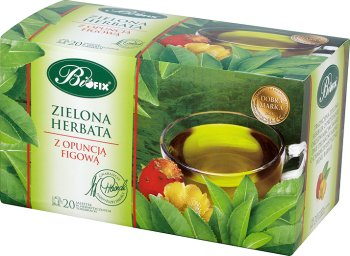 Bifix herbata zielona (20 torebek) z aromatem opuncji figowej