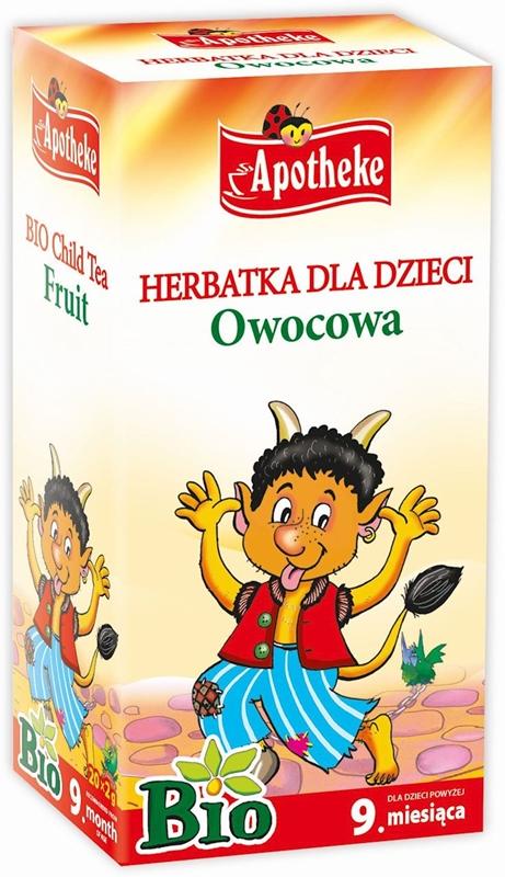 Apotheke BIO herbatka dla dzieci Owocowa