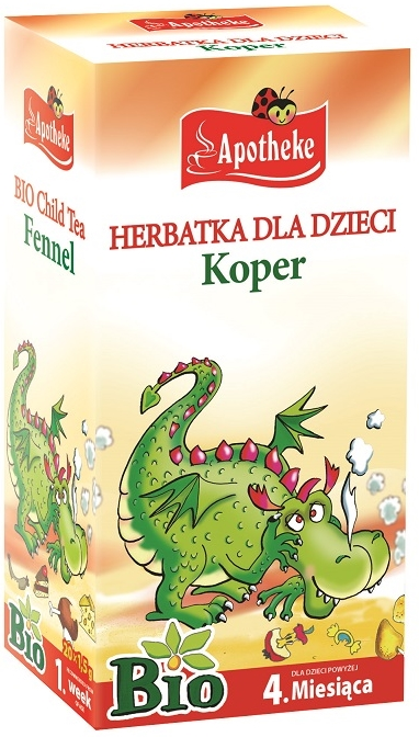 Apotheke Herbatka dla dzieci koper BIO
