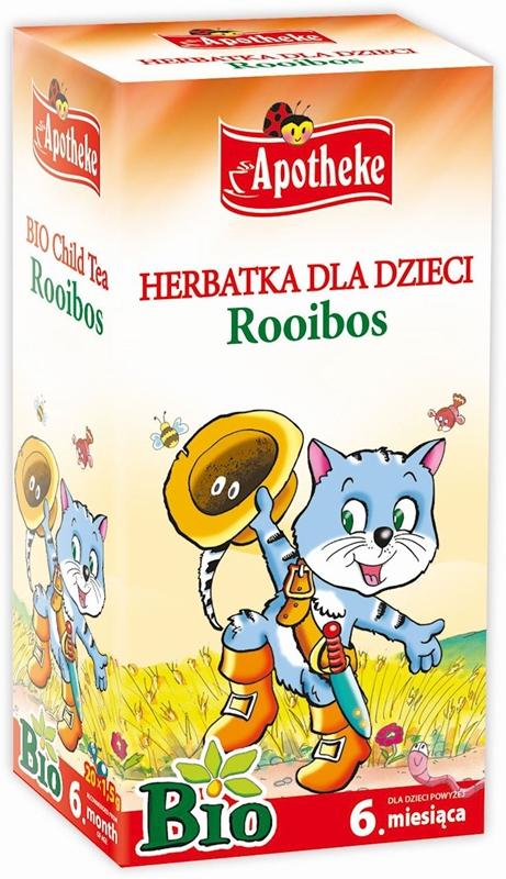 APOTHEKE BIO herbatka dla dzieci 20 torebek po 1,5g rooibos