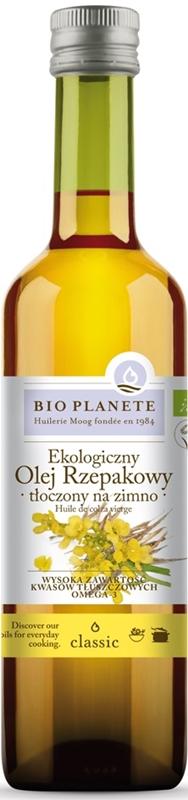 Bio Planete olej rzepakowy extra virgin ekologiczny