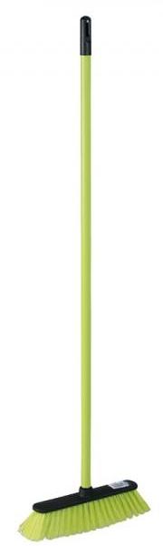York Miotła CENTI + trzonek zielona