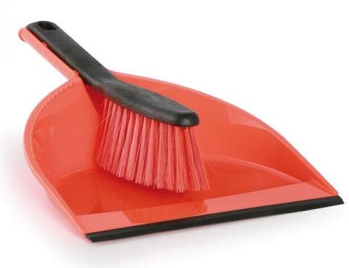 York Sweeper + boule de CLIP en caoutchouc rouge