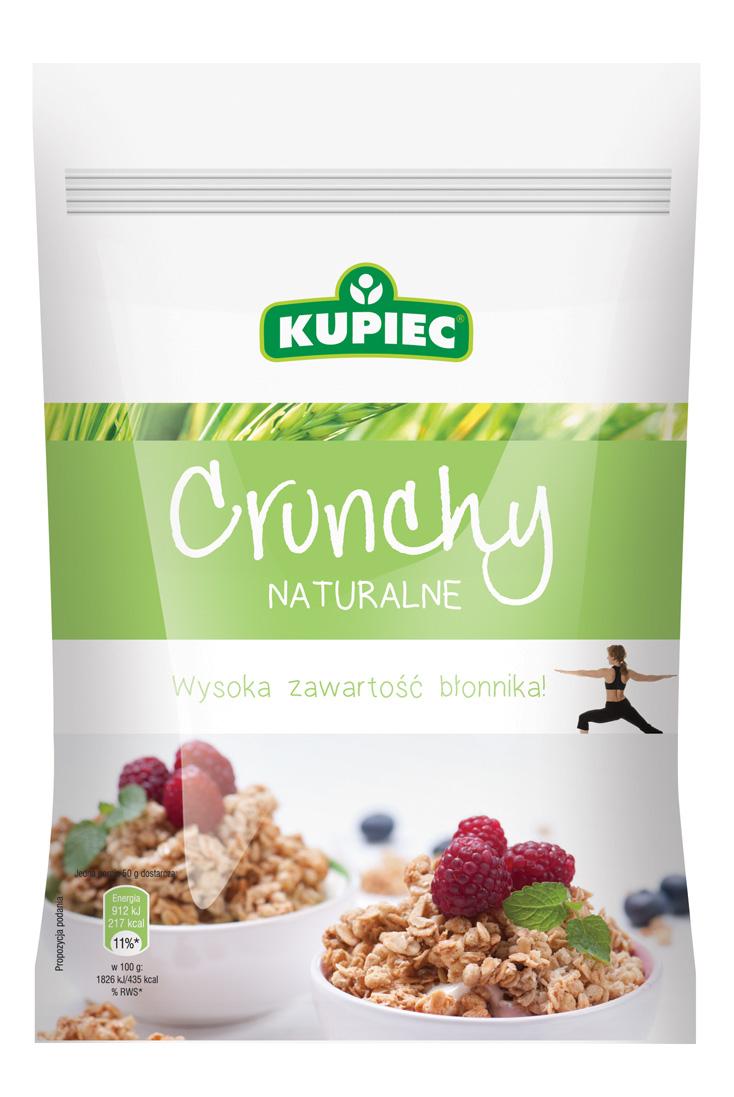 Kupiec Coś Na Ząb Crunchy Naturalne 250g