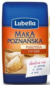 Lubella Mąka Puszysta Poznańska do pierogów