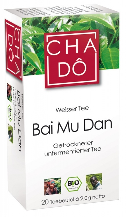 Cha Do Bai Mu Dan Ekologiczna herbata w torebkach BIO