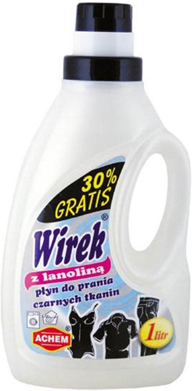 Wenig Whirlpool Lanolin Waschflüssigkeit Black fabric 30 % frei