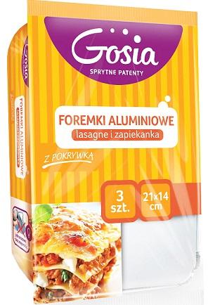 Gosia Cooks Foremki aluminiowe do pieczenia Lasagne