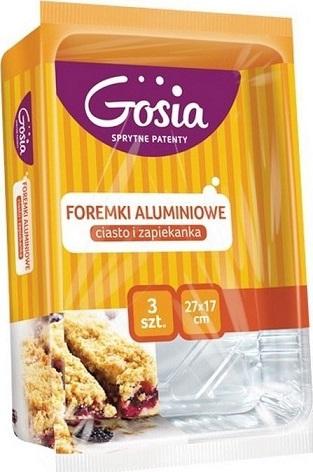 Gosia Cooks Foremki aluminiowe do pieczenia ciast