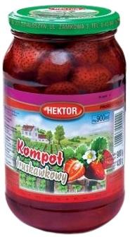 Hektor kompot truskawkowy