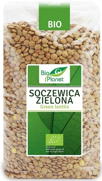 Bio Planet soczewica zielona