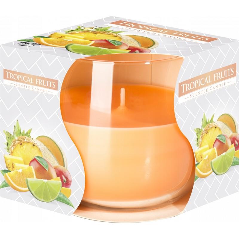 Bispol świeca zapachowa w szkle Letnie owoce