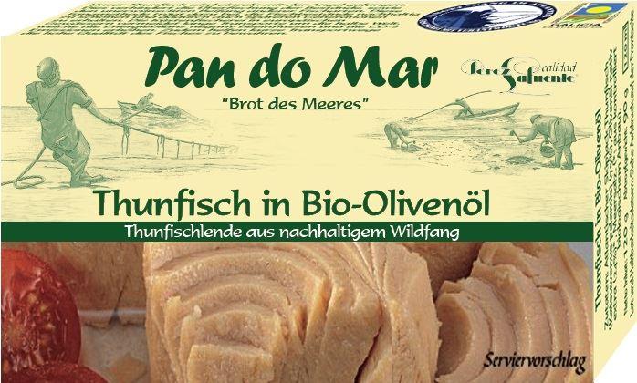 Pan do Mar tuńczyk w Bio oliwie