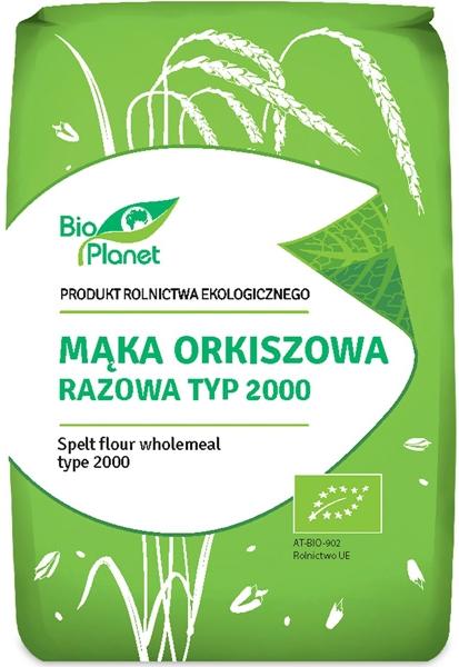 BIO Planet mąka BIO orkiszowa razowa typ 2000