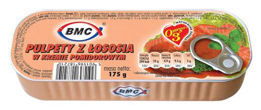 B.M.C Pulpety z łososia w kremie pomidorowym