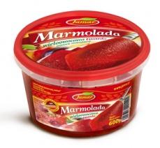 Tutti Frutti duro mermelada, fruta mezclada