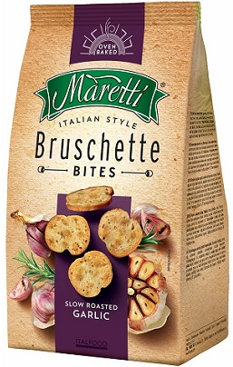 Bruschette Maretti chrupki chlebowe czosnkowe