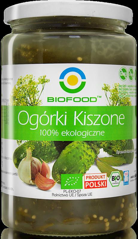 Bio Food Ogórki Kiszone BIO