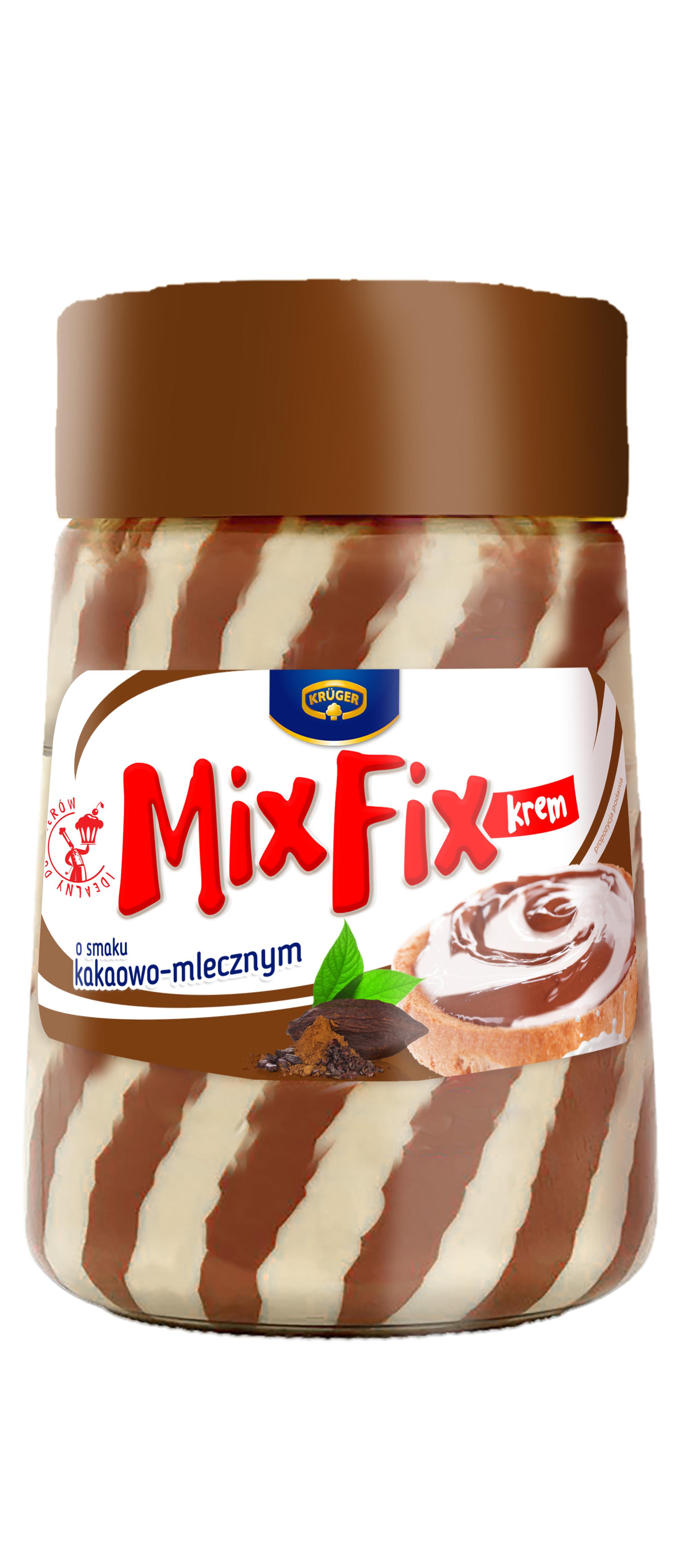 Mix Fix krem o smaku kakaowo-mlecznym